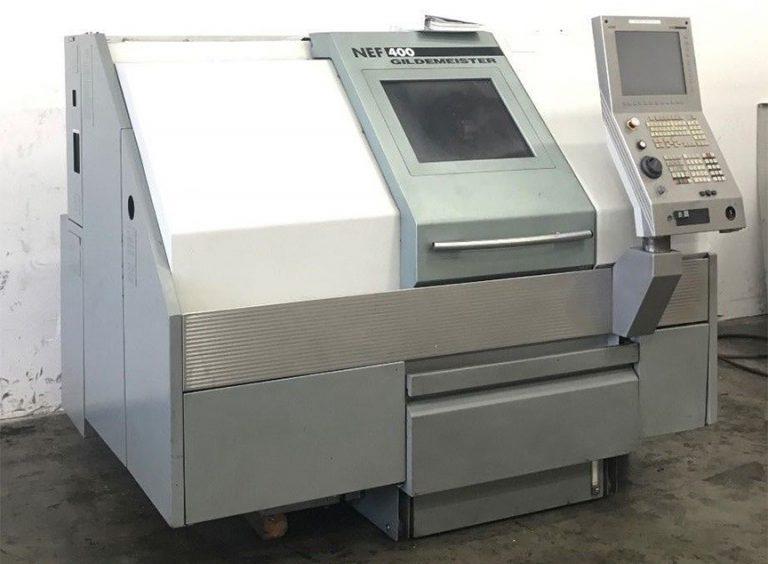 DMG Gildemeister NEF-400 CNC Turning Lathe